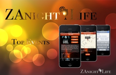 ZAnightLife Website